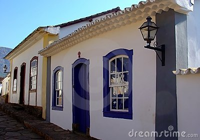 Historical city houses