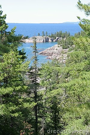 Lookout to Lake Superior