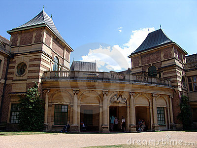 View of Eltham Palace front entrance