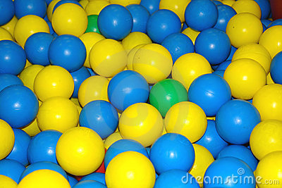 Colourfull balls