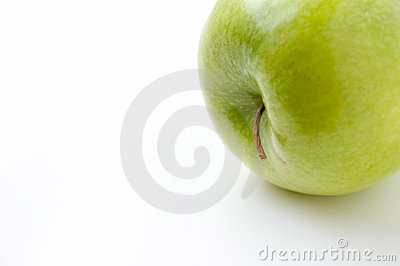 Apple on side