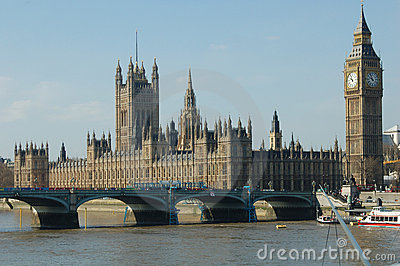 Big Ben and House of Parliament - London