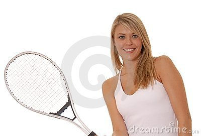 Tennis Girl Two
