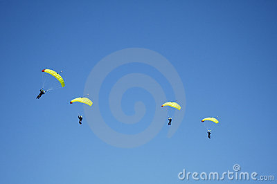 Skydiving Team 7