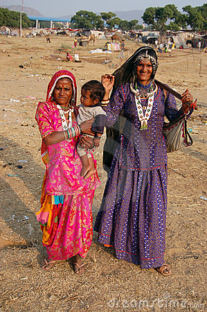 Rural people of Pushkar