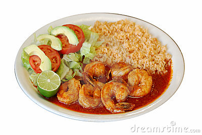 Mexican Shrimps Rice