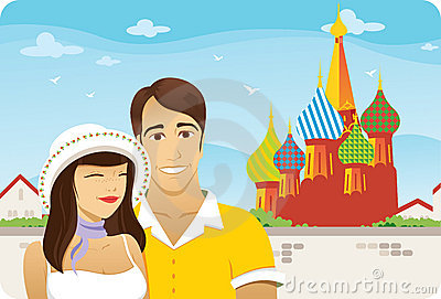 Honeymoon in Moscow