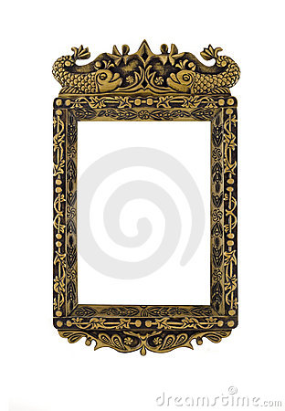 Empty carved Frame for picture or portrait