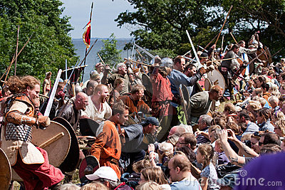 Yearly Viking Moot at Moesgaard