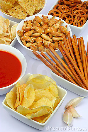 Potato chips and other salty snacks