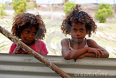 Melanesian people of Papua New Guinea