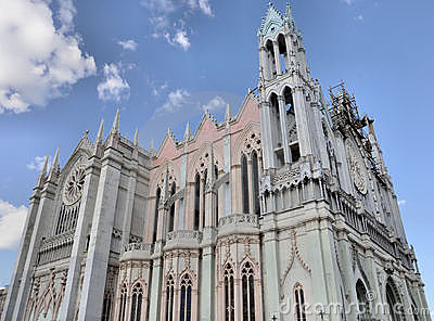 Expiatorio Church Leon Mexico