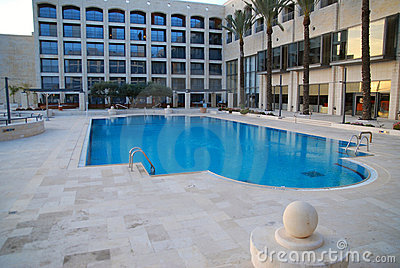 Hotel swimming pool
