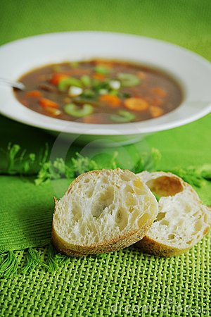 Vegetables soup
