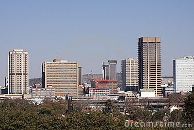 Pretoria City Skyline