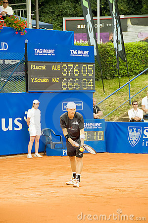Poznan Porshe Open 2009 - P.Luczak (AUS) serve