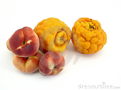 Ugly tangerines and peaches