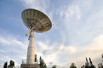 Satellite Communications Dish