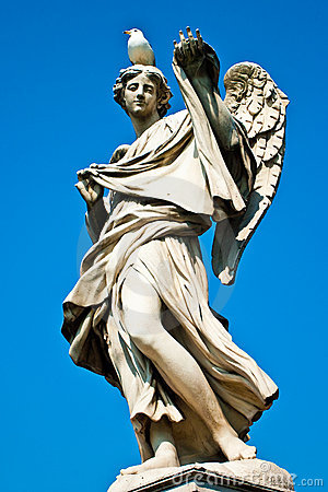Statue of an angel in Rome