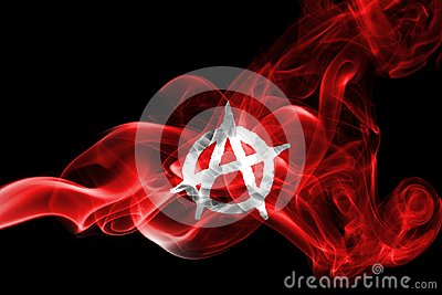 Anarchy smoke flag
