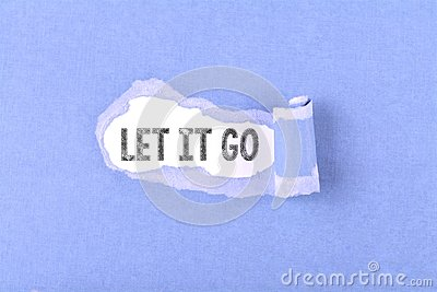 Let it go word