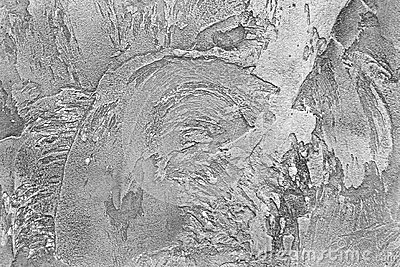 Black and white background of structured plaster