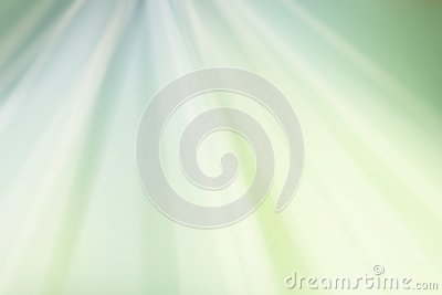 Light green white and yellow rippled background design with waves of color in starburst or sunburst pattern