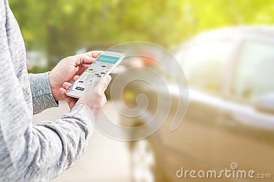 Online ride sharing and carpool mobile application.