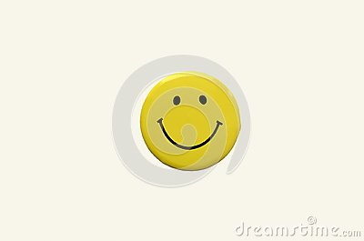 Smiley yellow color, smiling face, icon, three-dimensional image
