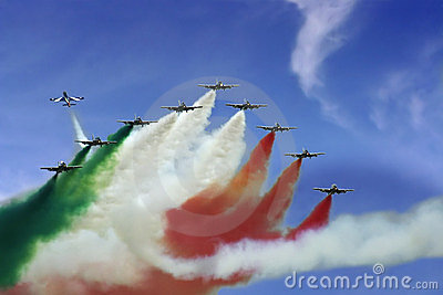 Frecce Tricolori demonstration team