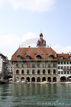 Guildhall in Luzern