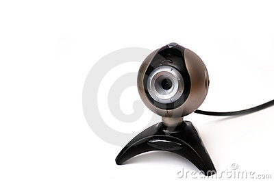 Webcam with wire