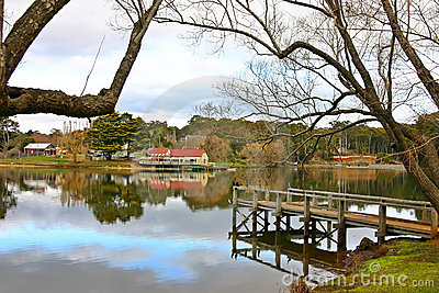 Lake daylesford Jetty and Boathouse
