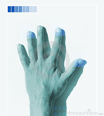 Hand scan