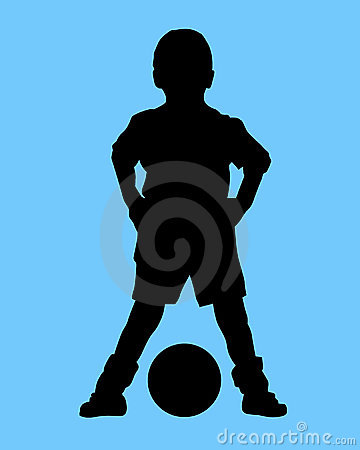 Boy and ball