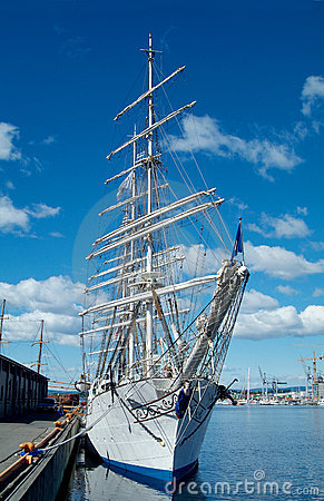 Square-rigger in Oslo