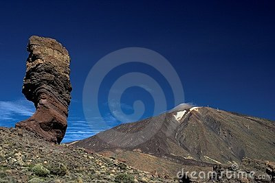 Garcia Rocks and Teide Volcano