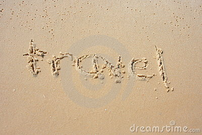 Travel in the sand