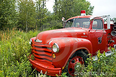 Antique Firetruck - 1