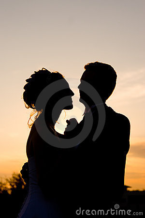 Newlywed Sunset