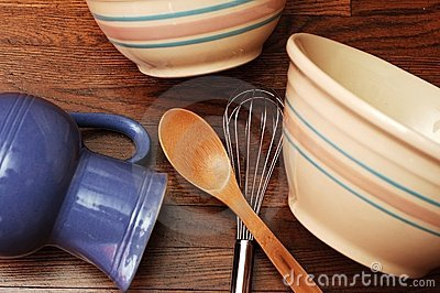 Bowls and Utensils