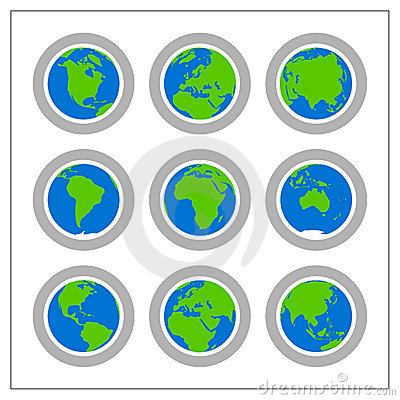 Global Icon Set - Version 1
