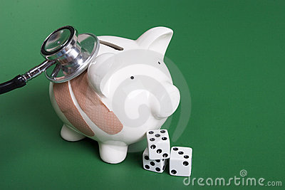 Gambling on health of your finances