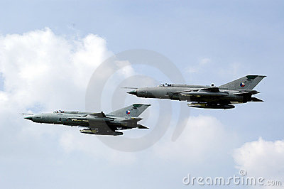 Two russian fighters