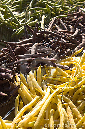 String beans from farmers market