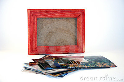 Picture Frame and Pictures