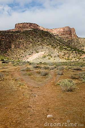 Mesa in Colorado National Monument