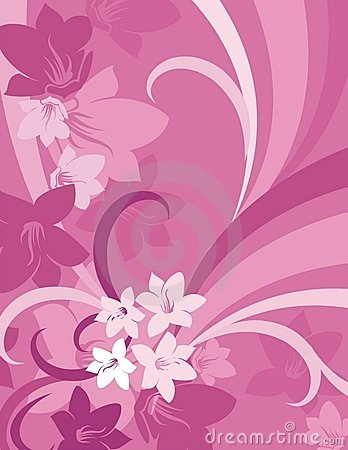 Floral Background Series