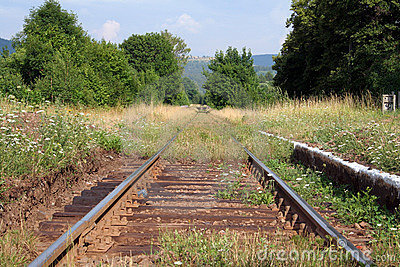 Old railway track