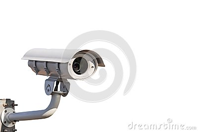 CCTV or closed circuit television surveillance security system